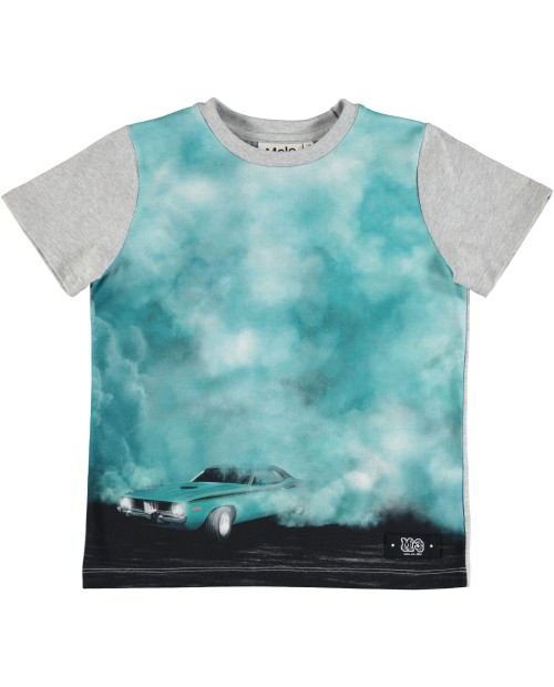 T-shirt Raddix Burnout Smoke