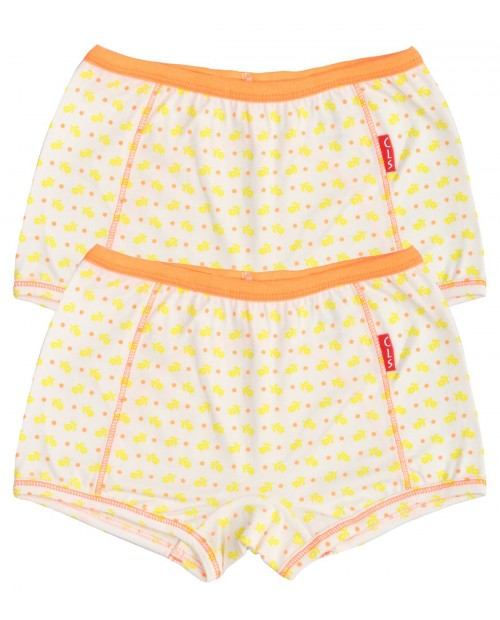 2-Pack Boxers Flower Yellow