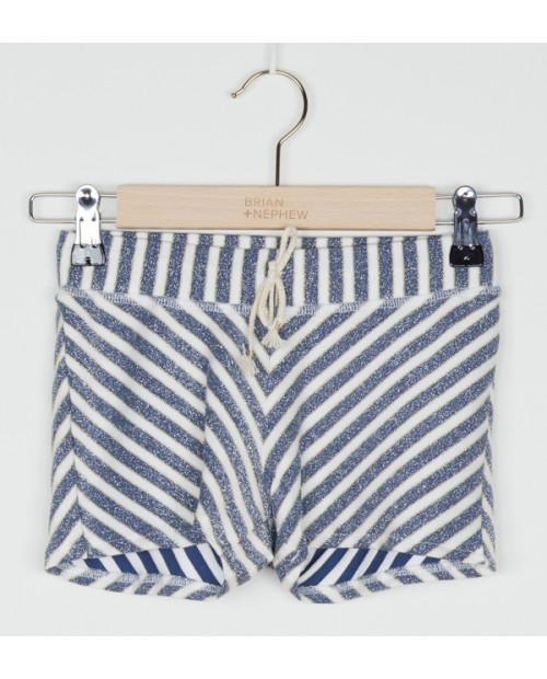 Short Ohoopee Blue Stripe