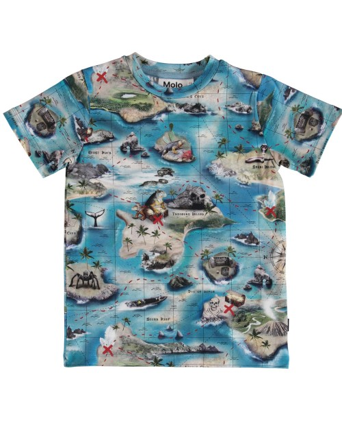 T-shirt Treasure Map