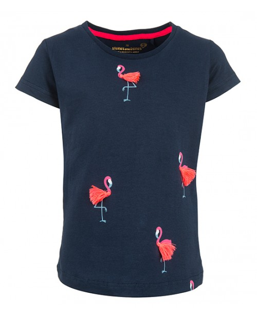 T-shirt Camille - Flamingos