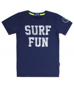 t-shirt surf fun navy