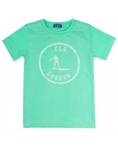 t-shirt surfer groen
