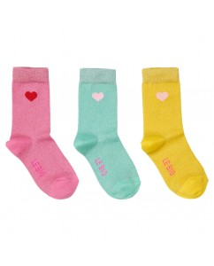Sokken Shirley 3-pack Candy Pink
