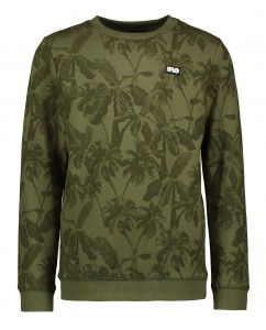 Sweater boys olive palm