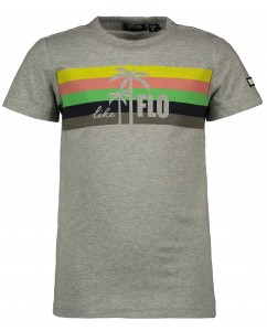 T-shirt boys rainbow grey melee