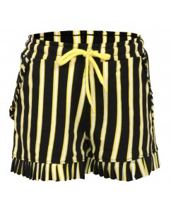 Short stripe yellow black