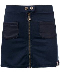 Rok Oxford Blue Zipper