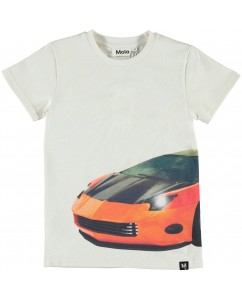 T-shirt Raven Patchwork Car Big