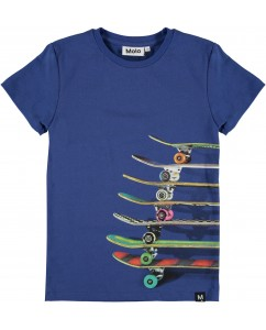 T-shirt Raven - Skateboards Blue