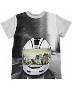 T-shirt Road - MC Helmet
