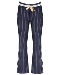 Sahara flared pinstripe pants
