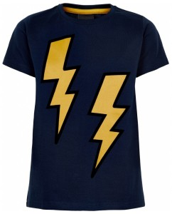 T-shirt Ode Lightning Navy