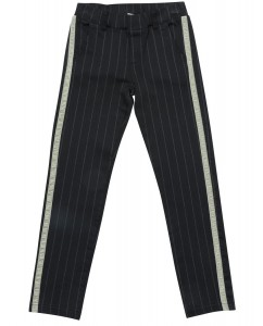 Broek Nori Black Grey Stripe