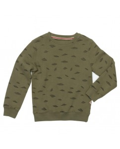 Sweater Neon Dusty Olive