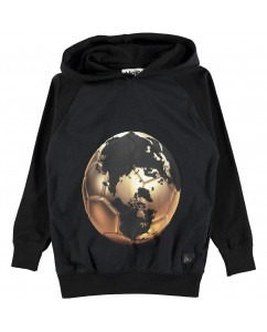 Hoodie Russel Football World Map