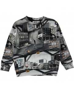 Sweater Madsim City Text