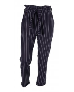 Broek Chalk Stripe Blue