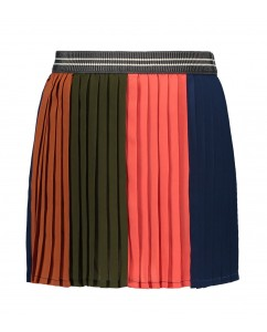 Rok Plissé Colourblock