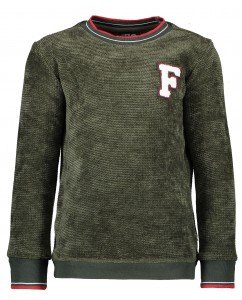 Sweater Army Chenille