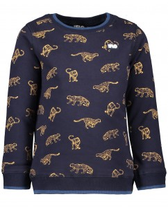 Sweater Navy Animal