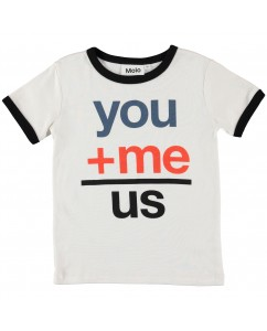 T-shirt you me us