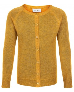 Cardigan Aya Glitter Golden Rod