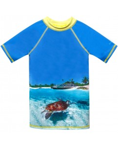 UV t-shirt turtle