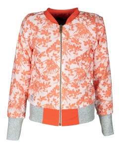 Bomber reversible japanese/orange