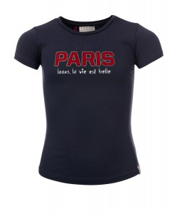 T-shirt Paris blue