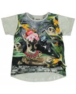 T-shirt Flower Bambi
