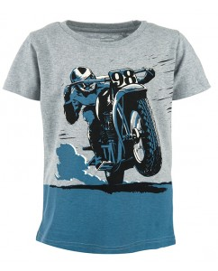T-shirt Russell - Comic Bike